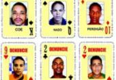 Baralho do Crime da SSP ganha seis novas cartas | Foto: