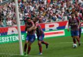 Confira as imagens de Bahia x Vitória pela semifinal do Nordestão | Foto: