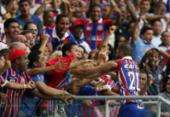 Na Arena Fonte Nova, Bahia vence o Vitória e chega à decisão da Copa do Nordeste | Foto: