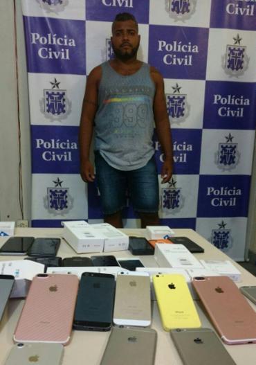 Eliel foi interceptado após venda de peças pela internet - Foto: Divulgação | SSP