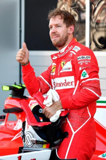 O melhor tempo do dia foi de Vettel, com 1min33s194 - Foto: Andrej Isakovic | AFP