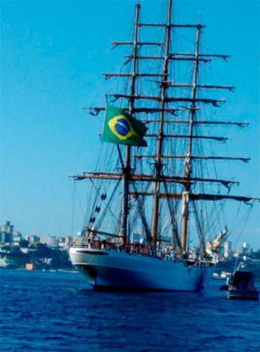 Navio será aberto a visitação no domingo, 9 - Foto: Xando Pereira | Ag. A TARDE