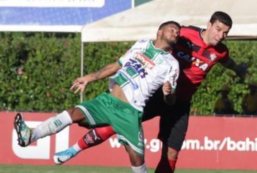 Com gol nos acréscimos, Vitória arranca empate em Conquista