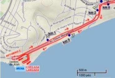 Transalvador vai fechar o trânsito na orla durante corrida no domingo