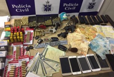 Suspeito de liderar tráfico é preso com mais de 500 munições na Bahia