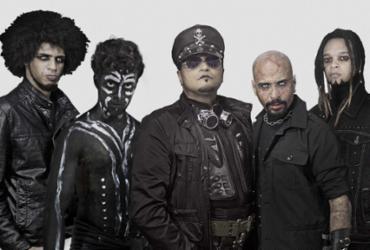 O rock pesado e teatral da Desrroche é a atração de sábado no Pelô