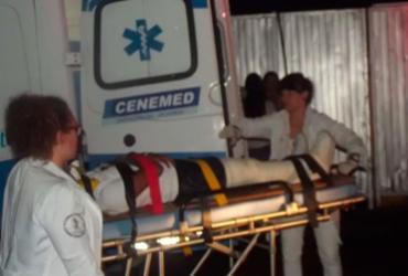 Parte de palco do show de Luan Santana desaba e deixa fãs feridos