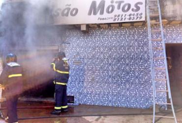 Incêndio atinge oficina e parte de uma casa em Barreiras