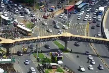 Confira a situação do trânsito em Salvador