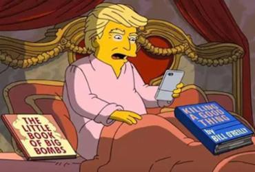 'Os Simpsons' terão episódio especial de 100 dias de mandato de Trump