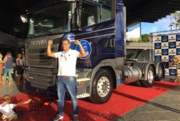 Baiano ganha prêmio de melhor motorista de caminhão da América Latina