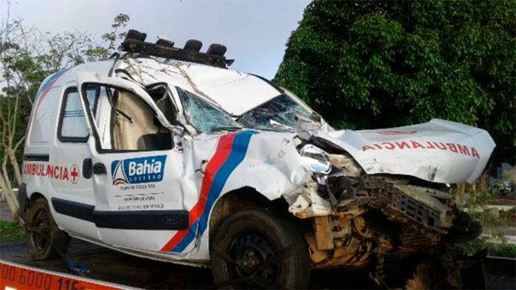 Não há informações se a vítima estava sendo transferida para alguma unidade de saúde - Foto: Aldo Matos| Reprodução | Acorda Cidade