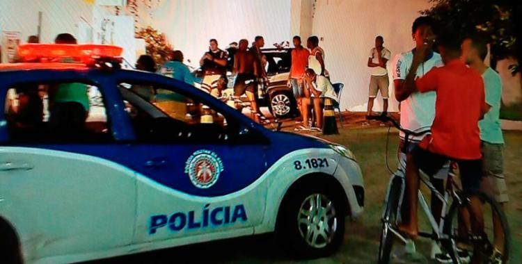 O adolescente foi baleado e morreu na avenida Vasco da Gama - Foto: Reprodução | TV Record