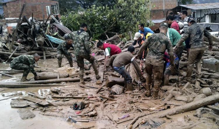 O número ainda pode ser alterado - Foto: Exército da Colômbia | AFP