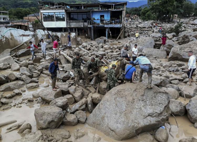 Os números são atualizados a todo instante - Foto: Exército da Colômbia   AFP