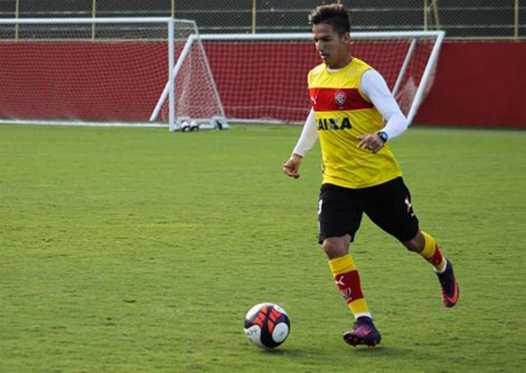 Com Geferson suspenso, Euller será titular nesta quinta-feira, 13, no Barradão - Foto: Maurícia da Matta l EC Vitória