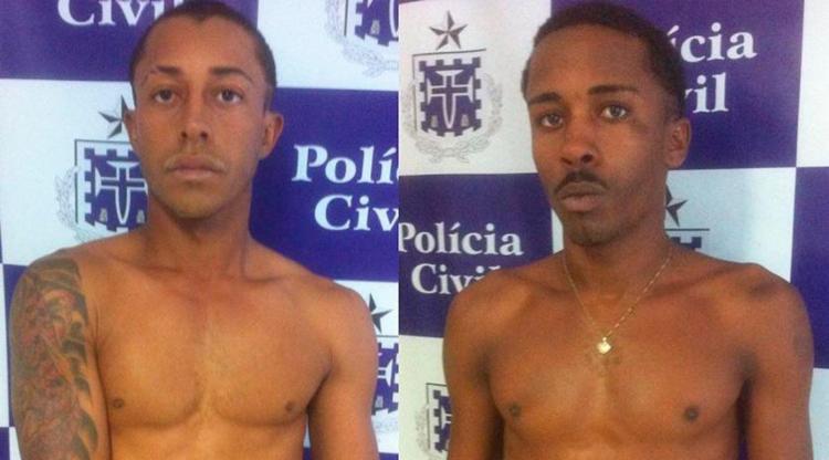 Ronilson (à esq.) e Juliano (à dir.) estão presos no Conjunto Penal de Feiira - Foto: Divulgação | Polícia Civil