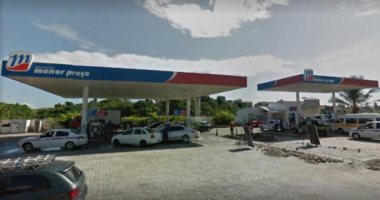 Posto está localizado na BR-324, após a entrada do bairro Valéria - Foto: Reprodução | Google Maps