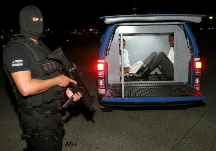 Criminosos chegaram na capital baiana nesta quarta-feira - Foto: SSP | Divulgação