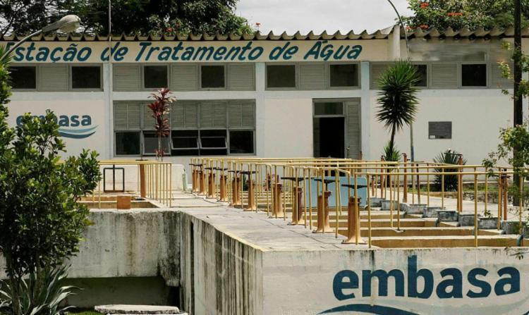 Presidente da Embasa diz que volume de água nos reservatórios atende de 45 a 60 dias - Foto: Joá Souza | Ag. A Tarde
