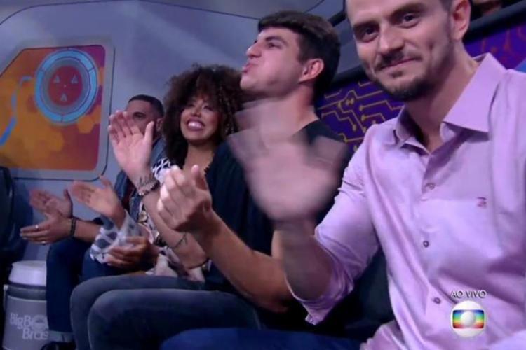 Marcos participou do encerramento do programa nesta quinta-feira - Foto: Reprodução | TV Globo
