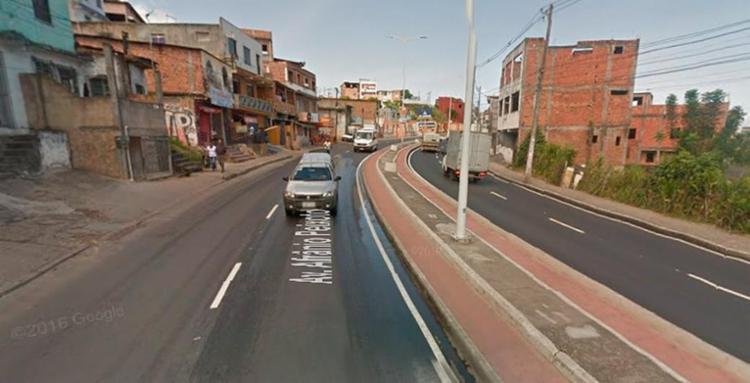 O homem foi morto com tiros pelas costas - Foto: Reprodução | Google Maps