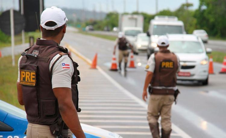 122 veículos foram abordados na operação - Foto: Alberto Maraux   SSP