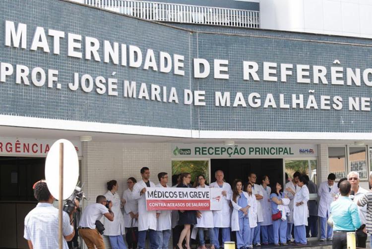 Categoria reclama do atraso no pagamento de salários - Foto: Xado Pereira | Ag. A TARDE