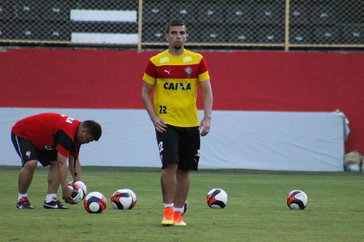 André Lima segue no comando do ataque do Rubro-Negro no jogo de quarta-feira, 19 - Foto: Maurícia da Matta l EC Vitória