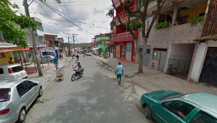 Primeiro crime aconteceu na rua 24 de Agosto - Foto: Reprodução   Google Maps