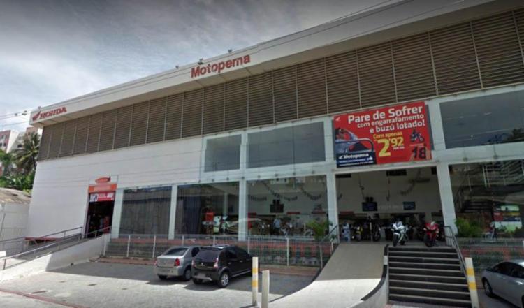 Concessionária está localizada na avenida Heitor Dias - Foto: Reprodução | Google Maps