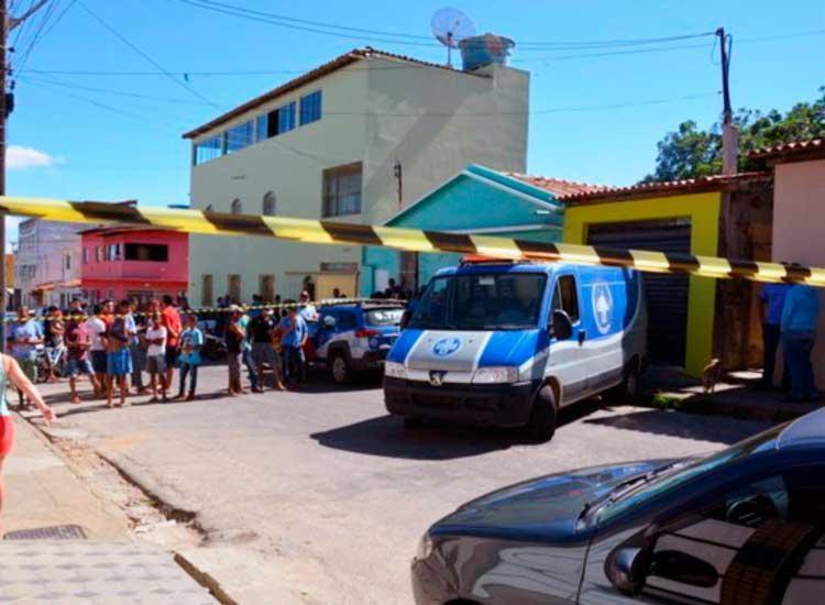 Crime aconteceu na rua João Gonçalves, no bairro Guarani - Foto: Anderson Oliveira | Blog do Anderson