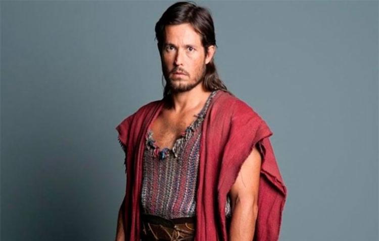 Roger vive Absalom na novela bíblica - Foto: Divulgação | Record