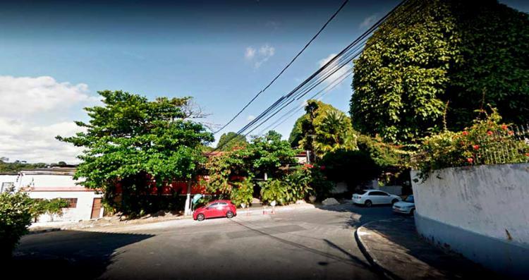 O local é o mesmo onde Guilherme dos Santos foi visto pela última vez - Foto: Reprodução | Goolge Street View