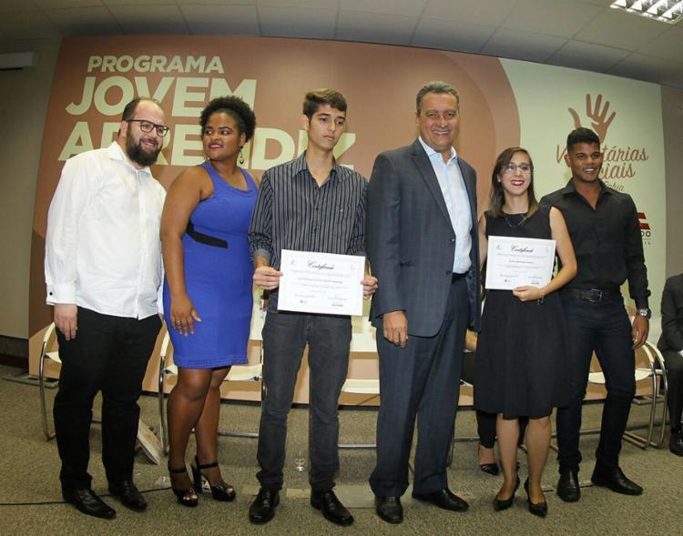 Cerimônia de entrega dos certificados ocorreu na Seinfra - Foto: Manu Dias l Gov-BA