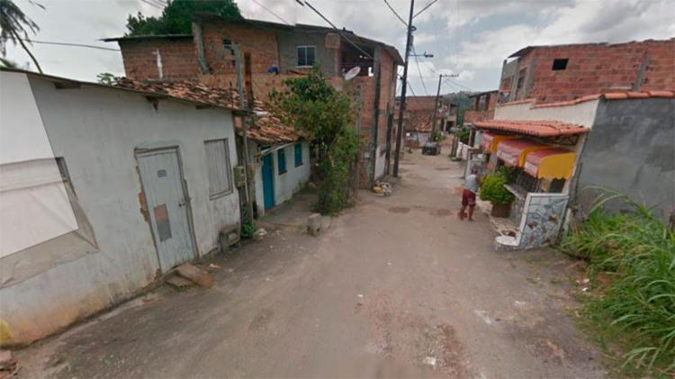 Crime aconteceu na rua 14 de julho, no bairro de Coutos - Foto: Reprodução | Google Maps