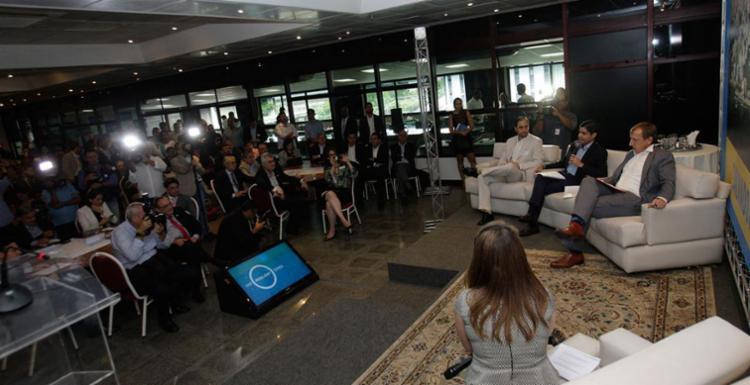 O anúncio foi feito durante evento na Casa do Comércio - Foto: Margarida Neide | Ag. A TARDE
