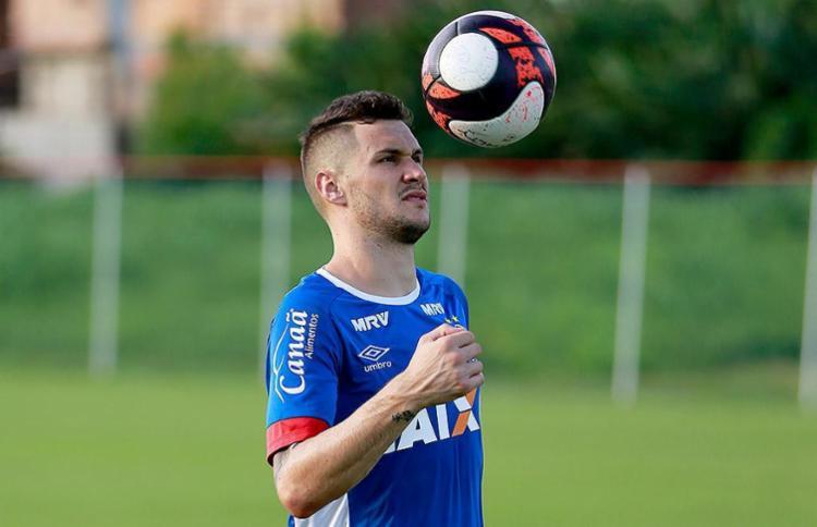 Tiago volta após cumprir suspensão no primeiro jogo - Foto: Felipe Oliveira l EC Bahia