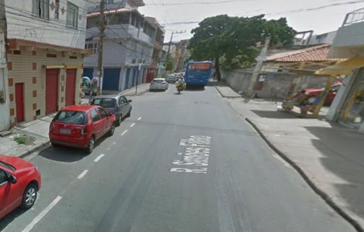 Crime aconteceu no km 25, na cidade de Simões Filho, nesta sexta-feira - Foto: Reprodução |Google Maps