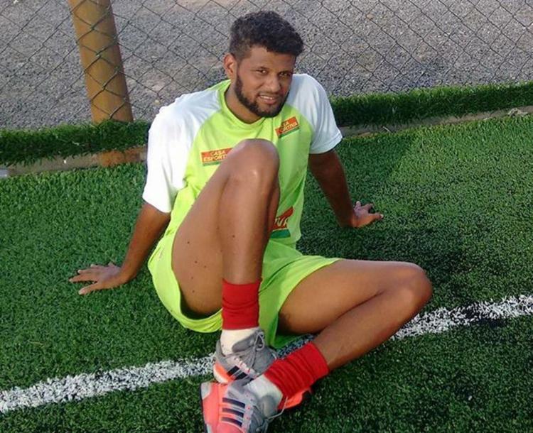 No ano passado, Alysson jogou no Flu de Feira - Foto: Divulgação l Fluminense de Feira