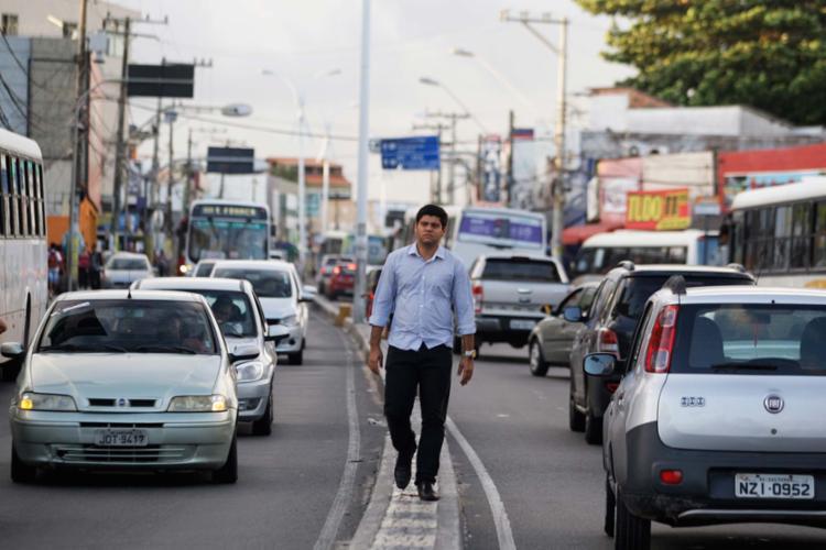 Eric planeja o evento Semana dos Descontos nas lojas de Itapuã - Foto: Raul Spinassé | Ag. A TARDE