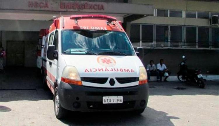 Vítimas foram levadas para o Hospital Clériston Andrade - Foto: Reprodução | Acorda Cidade
