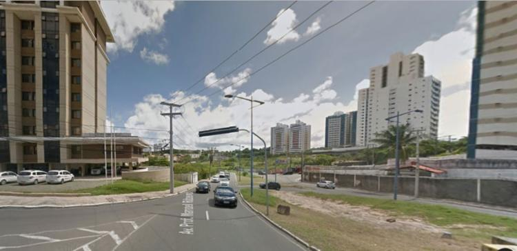 Acidente aconteceu nas proximidades do Centro de Convenções - Foto: Reprodução | Google Maps