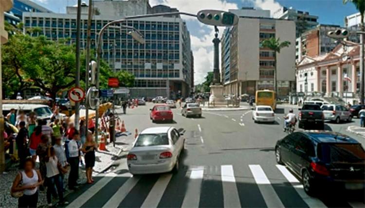Os bloqueios terminam na segunda-feira, 1º - Foto: Reprodução | Google Maps