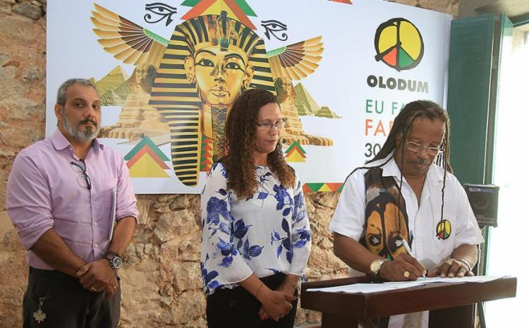 Termo de compromisso foi assinado na tarde desta terça-feira, 25 - Foto: Joá Souza l Ag. A TARDE
