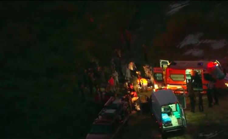 Acidente aconteceu em um lago existente em uma área de treinamento do Jardim Silveira em São Paulo - Foto: Reprodução | TV Globo