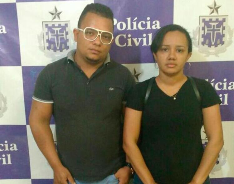 Casal foi preso por receptação de produto roubado - Foto: Divulgação | SSP