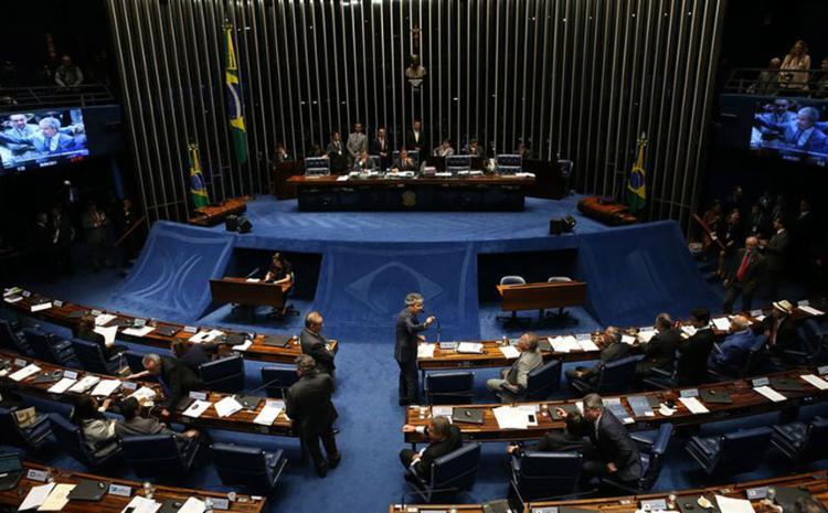 Proposta determina que apenas chefes dos três Poderes responderão perante o Supremo Tribunal Federal - Foto: Antonio Cruz l Agência Brasil