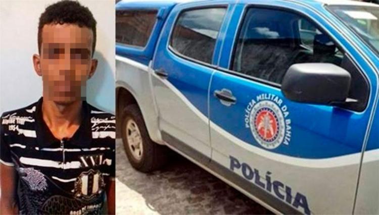 Suspeito chegou a tirar a roupa íntima da vítima - Foto: Vilson Nunes | Reprodução | Site Folha do Vale