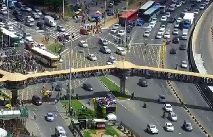 Vista da região do Shopping da Bahia - Foto: Divulgação   Transalvador